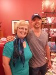 Me and my Facebook friend, Stephan Pastis ...
