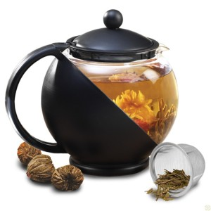 Cool Tea Pot with Flowering Tea