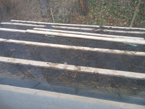 amish strips for new roof