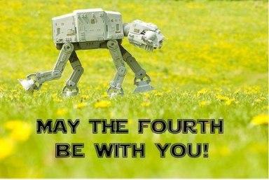 may the fourth at at