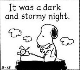 snoopy-it-was-a-dark-and-stormy-night